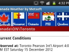 Canada Weather 1.5 Screenshot