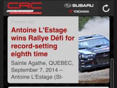 Canadian Rally Championship 1.19.25.42 Screenshot