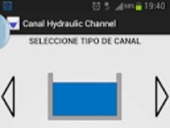 canal hydraulic channel 1.0 Screenshot