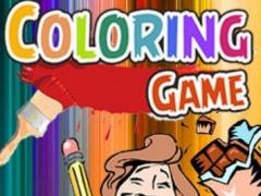 Candy Family Cartoon Coloring Version 1.0 Screenshot