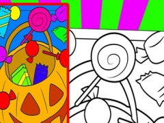Candy Go Coloring Book Free Game For Kids Edition 1.0 Screenshot