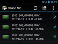 Canon Movie Converter 1.0.0.8 Screenshot