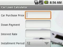 Car Loan Calculator 1.21 Screenshot