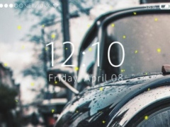 Car Lock Screen Live Wallpaper 1.3 Screenshot