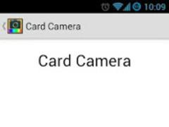 Card Camera 1.5 Screenshot