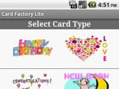 Card Factory Lite 1.0 Screenshot