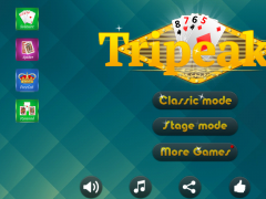 Card Tripeaks Pyramid 4in1 1.1.8 Screenshot