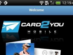 Card2You 1.7 Screenshot