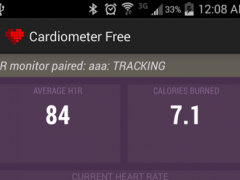CardiometerFree ANT Heart Rate 1.2 Screenshot