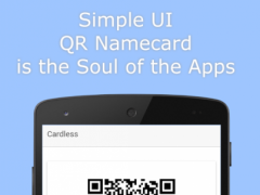 Cardless - QR Namecard 0.0.1 Screenshot