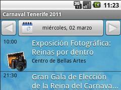 Carnaval Tenerife 2011 1.0.3 Screenshot
