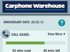 Carphone Warehouse Bill Angel 1.0.4 Screenshot