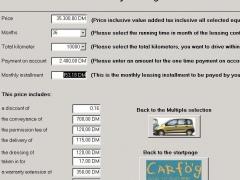 CarRent Access Application 2.0 Screenshot