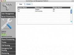 CarrierClass.net Large-Scale Open PBX 2.0 Screenshot