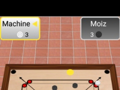 Review Screenshot - Board Game – Enjoy Carrom on Your Smartphone