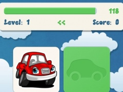 Cars preschool matching toddlers game : Family games for kids memorize car HD and FREE 1.0 Screenshot