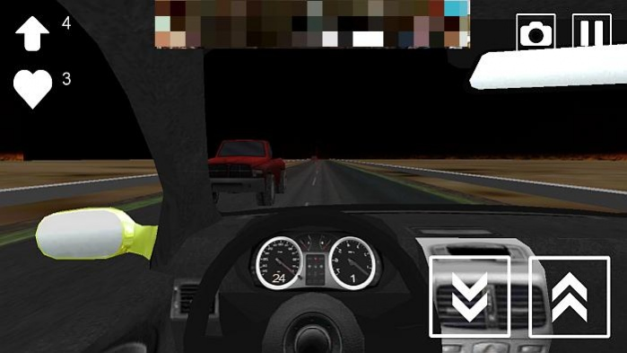 Road Racing in Car 3D