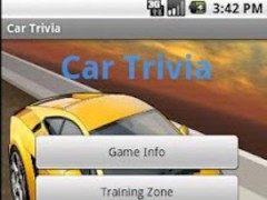 Cars Trivia Amazing 1.0 Screenshot
