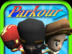 Cartoon Parkour (Free) - HaFun 2.5.0 Screenshot