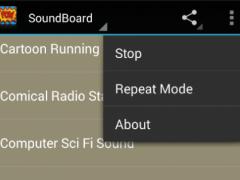 Cartoon sound FX 2.0 Screenshot