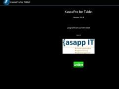 Cash Desk Pro for Tablets 1.1.0 Screenshot
