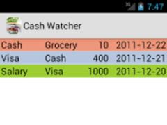 Cash Watcher 1.16 Screenshot
