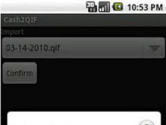 Cash2QIF 1.11 Screenshot