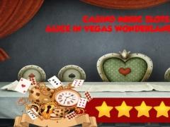 Casino Music Slots : Alice in Vegas Wonderland Jackpot Edition (FREE) 1.0 Screenshot