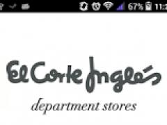 El Corte Inglés Dept. Stores 3.1 Screenshot