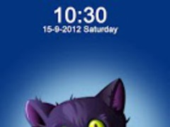 Cat Lock Screen 1.0 Screenshot