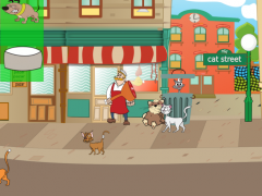 Cat Street - Cute Cats 1.3 Screenshot