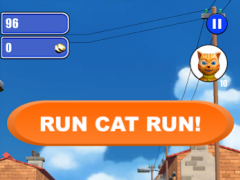 Cat Leo Run - Talking Cat Leo vs. Dog 9.0 Screenshot