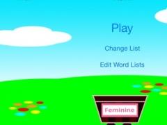 Catch it: Learn Spanish masculine and feminine 1.0 Screenshot