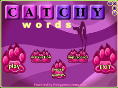 Catchy Words 1.0 Screenshot