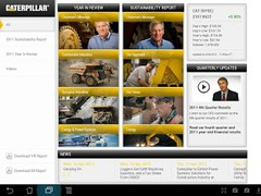 Caterpillar Inc. News - Tablet 1.0.2 Screenshot