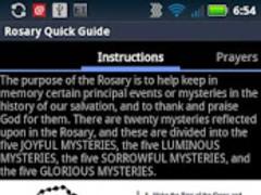 Catholic Rosary Quick Guide 1.3 Screenshot