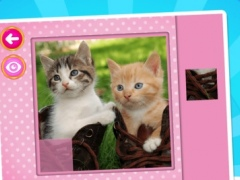 Cats & Kittens Puzzles - Logic Game for Toddlers, Preschool Kids, Little Boys and Girls 1.0 Screenshot