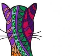 Cats mandalas coloring book for adults - Premium 1.0 Screenshot