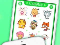 CatsMoji - Animated Cats for iMessage & WhatsApp 1.1 Screenshot