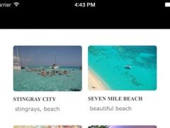 Cayman Islands Travel Guide Tristansoft 1.0 Screenshot