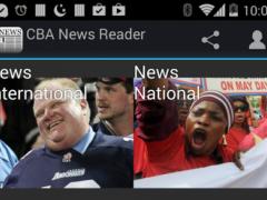 CBA News Reader 1.46 Screenshot