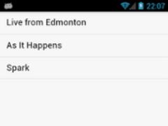 CBC Radio Player 0.7 Screenshot