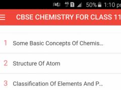 CBSE CHEMISTRY FOR CLASS 11 0.0.9 Screenshot