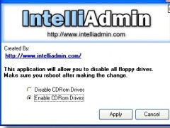 CD ROM Drive Disabler 2.0 Screenshot