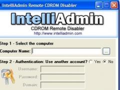 CD ROM Drive Remote Disabler 2.0 Screenshot