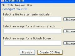 CD Start-It Lite 1.0.2 Screenshot