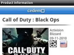 Cedemo - Video Game Scanner 1.8 Screenshot