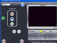 CEREMU Media Browser 2.0 Screenshot