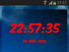 Cerro Porteño Digital Clock 3.10 Screenshot