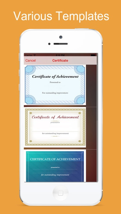 certificate maker app create and free download